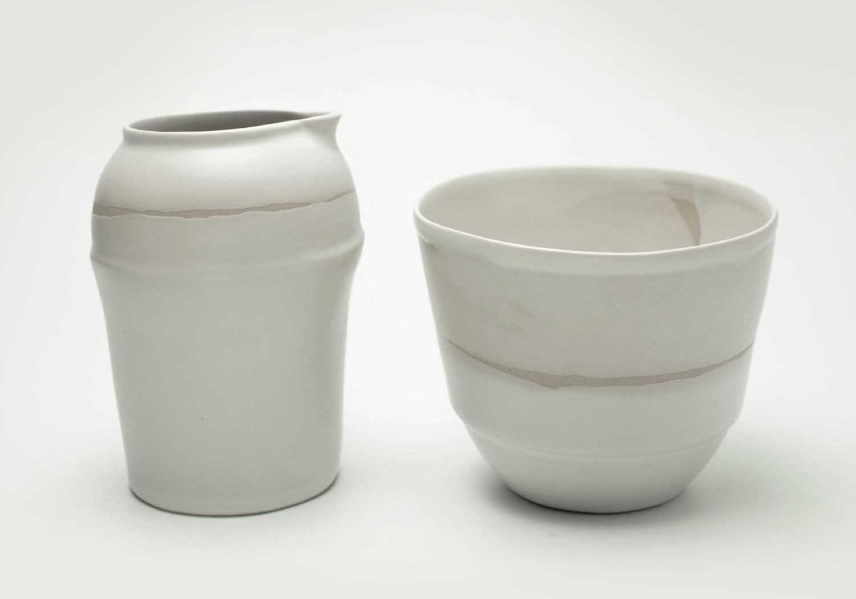 Ceramique blanche Aline Laffolie Arras