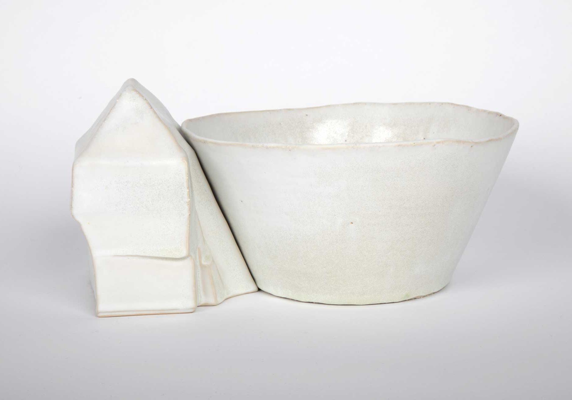 Accord blanc grès céramique émaillé Aline Laffolie