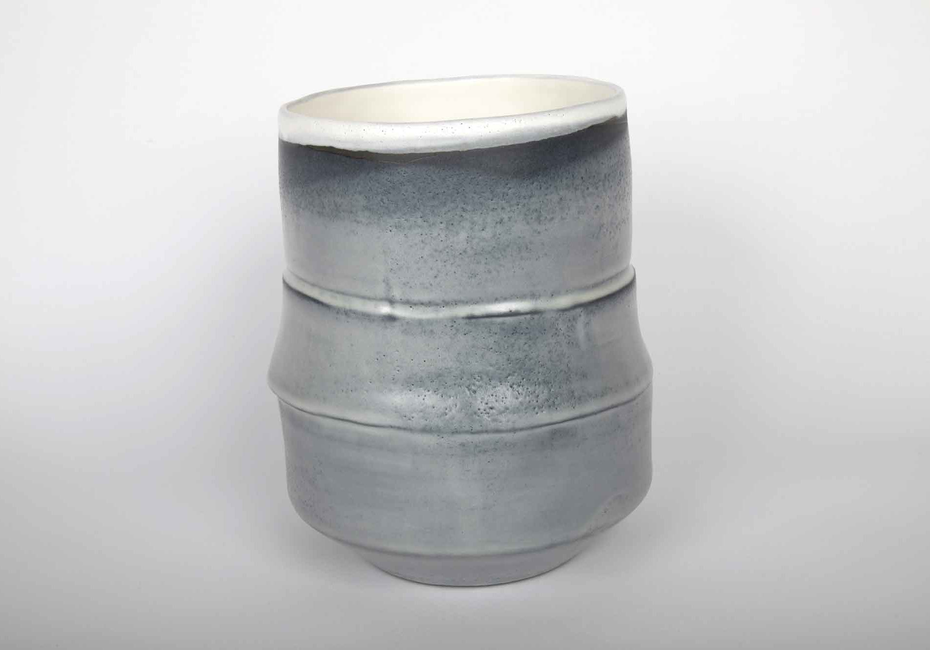 Vase en céramique émaillé